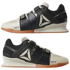 Reebok Legacy Lifter Black Gray Power Weightlift Shoes Dv4398 size 10 (Eur 43)