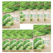 NATURE REPUBLIC Real Nature Facial Mask 23ml X 10 Sheets ALOE Moisture Skin