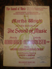 """Hammond Chord Organ Song Book: """"The Sound Of Music""""  ... Rodgers & Hammerstein"""