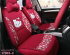 1 Sets Hello Kitty New Universal Car Cushion Cute Four Seasons Car Seat Covers