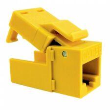 Platinum Tools 705YL-1 Yellow EZ- SnapJack Cat5e, 10 Piece