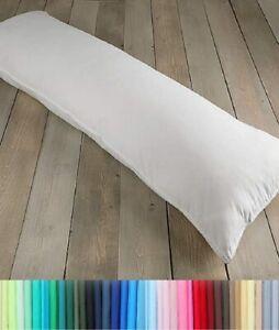 Bolster Pillow CASES Orthopedic Pregnancy Body Support Non Allergenic 4.6, 5,6FT