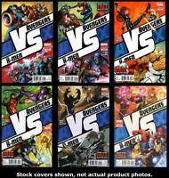 AvX: Vs 1 2 3 4 5 6 Marvel 2012 Complete Set Run Lot 1-6 VF/NM