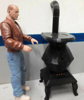 Woodstove LED flicker light 1/10 Scale Shop Garage Rock Crawler Doll House