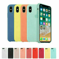 for Apple iPhone XR XS max X 8 7 6 6s plus Genuine Original Hard Silicone case