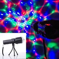 Weanas Flashlight LED RGB Handheld Disco DJ Party Stage Show Lighting + Tripod