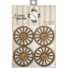 DESIGNS BY SHELLIE WOODEN WAGON WHEELS J & S HOBBIES AND CRAFTS