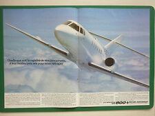 11/1983 PUB BRITISH AEROSPACE AVION BAe 125-800 BUSINESS JET ORIGINAL FRENCH AD