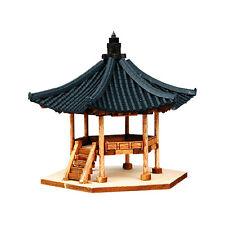 "HO Scale Korean Traditional Pavilion ""Baekwajeong"" Kit"