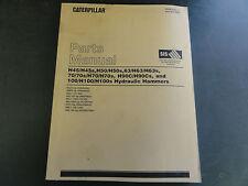 Caterpillar Hydraulic Hammers Parts Manual   January 2003 Version