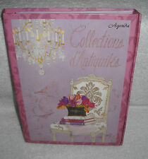 #7583 Tri Coastal Collections D'Antiquites Agenda