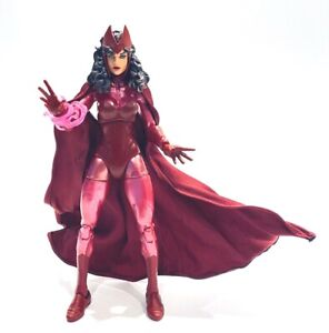 PB-SRW-C: Wired red cape for Marvel Legends 3-pack Scarlet Witch (No Figure)
