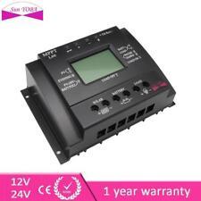 LCD Screen 60/80A MPPT Solar Panel Regulator Charge Controller Saving Energy GA