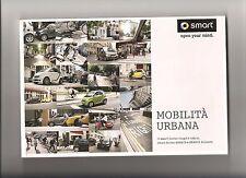 Catalogo Depliant Brochure SMART MOBILITA' URBANA coupè cabrio brabus pag.112