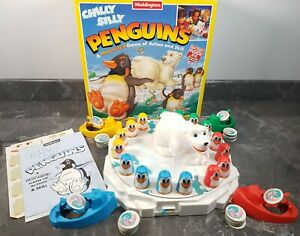 Chilly Silly Penguins Board Game Vintage 1994 Waddingtons *Rare* Good Condition
