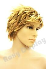 Male Wig Mannequin Head Hair #WG-HMW489