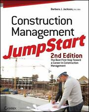 Construction Management Jumpstart (Paperback or Softback)