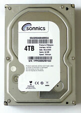 "Sonnics 4TB 3.5"" INCH SATA III INTERNAL HARD DISK DRIVE 7200RPM 64MB PC CCTV DVR"