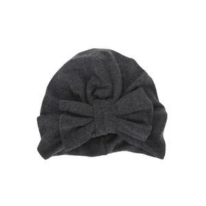 Newborn Baby Infant Cute Big Bowknot Turban Hat Soft Winter Warm Beanie Hat Cap