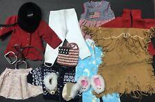 American Girl Doll Retired Outfit Lot - Equestrian, Kaya Meet Dress, Sleepwear