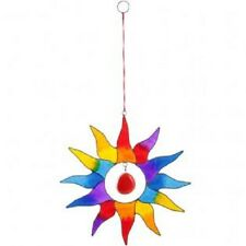 Multi coloured sun light catcher/window displayApprox Height 21cm Width 20cm