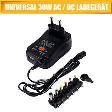 Universal Netzteil AC/DC 3V 4,5V 5V 6V 7,5V 9V 12V 1200mA +6 Stecker 110-240V