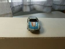 Vintage Tyco Slot Car #8913 440-X2 Chassic Corvette Silver/Blue And Orange