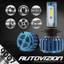 AUTOVIZION LED HID Headlight kit white 9007 HB5 6000K 1999-2002 Daewoo Lanos