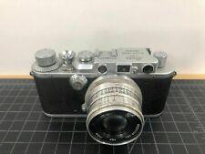 Leitz Leica III B DRP, vintage 35mm camera, lens 1:2,8 f=5cm,