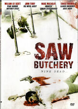 Saw Butchery , Nine Dead , 100% Uncut , Region2 DVD , new and sealed
