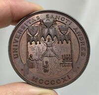 Scotland 1911 University College Dundee Bronze Zoology Medal - 81284