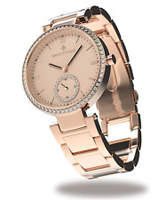 Watch for women rose gold Fashion with swarovski cristals Timothy Stone ELLE