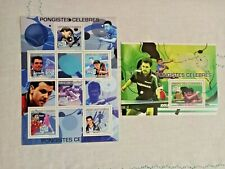 COMORO IS.  2009  Table tennis Sports    MNH  Set of 2 M/s