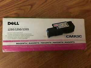 Genuine Dell Toner Cartridge Magenta  CMR3C 1250 1350 1355 C1760 C1765