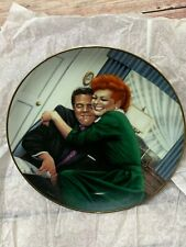 "The Hamilton Collection ""The Big Squeeze"" I Love Lucy Plate"