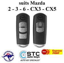 Mazda 2 3 6 CX3 CX5 Smart Remote Proximity Key 2012 2013 2014 2015 2016 2017 +