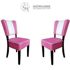 "2er Set American Diner Stuhl ""VEGAS"" / Freie Farbwahl / 50/60er Jahre Look / TOP"