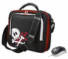 TRUST 17299 PIRATA Netbook Tablet Accessorio Tracolla Borsa Custodia + mouse corrispondenti