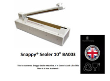 Snappy® Sealer, food sealer Heat Sealing Machine Bag Sealer BA003 Snappy Bags