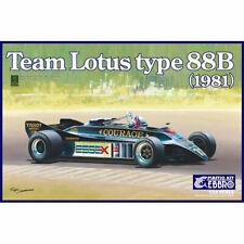 Ebbro 20010 Team Lotus Type 88B Courage 1:20 Car Model Kit Tamiya E010