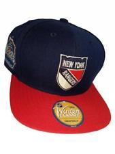 New York Rangers Mens OSFA Reebok Winter Classic Flatbrim Snapback Hat $24