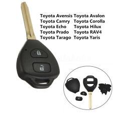Remote Key Fob Shell For Toyota Rav4 Corolla Camry Yaris Hilux Prado Avalon Echo