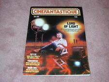 CINEFANTASTIQUE vol.15 no.2, The Lord of Light Peter Kuran, FREE SHIPPING in USA