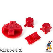 Gameboy Pocket Knöpfe GBP Buttons Game Boy Tasten Pads red Button Knopf Rot