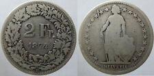 Schweiz 2 Franken 1874 Silber (9)