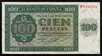 ESPAÑA  / SPAIN  100 Pesetas 1936  Serie W  SC / UNC