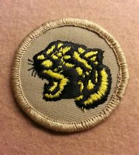 BSA  PATROL MEDALLION PATCH - TIGER - 1989-2002  - PRE-OWNED  A00375