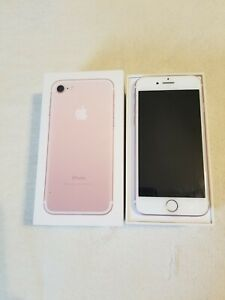 Apple iPhone 7  32GB  Rose Gold Color  Only T-Mobile LOCKED ==  FAST SHIPPING
