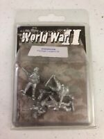 Military Wargame Roleplay Artizan WWII Foreign Legion Metal Miniatures