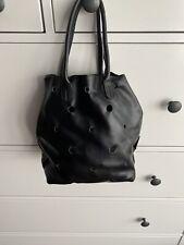 Designer Handbag, Furla, Black Leather